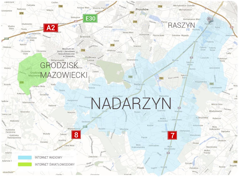mapa+nadarzyn